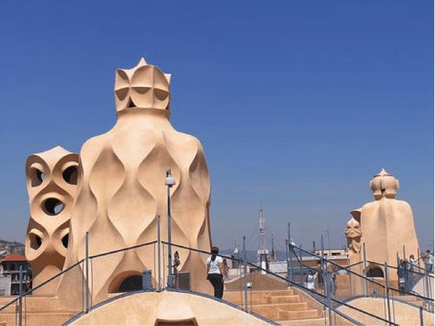 Barcelona.Roofs