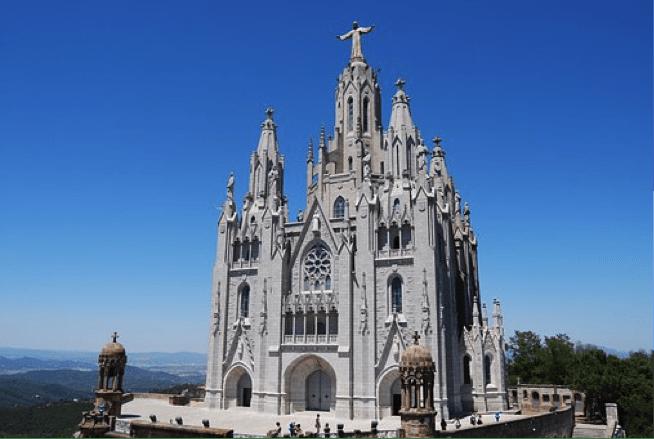 Tibidabo.Iglesia.Sagrado.Corazón