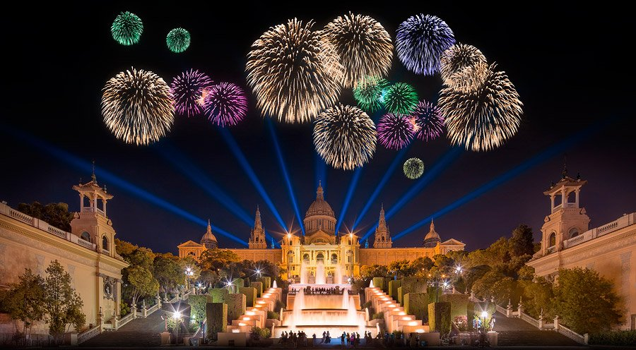 Αποτέλεσμα εικόνας για barcelona magic fountain