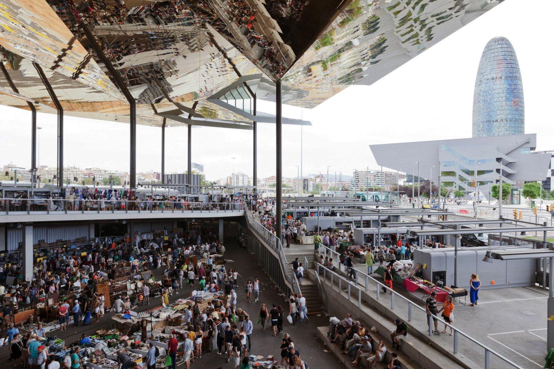 Encants markets vesping blog for El mercat de les glories
