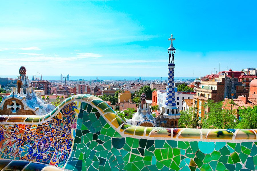 Park Guell One Of The Symbols Of Gaud 237 S Work In Barcelona
